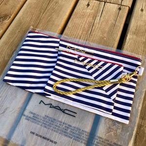 MAC Gone Sailing Makeup Bag Set